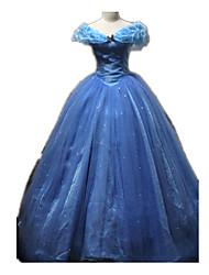 Une Pièce/Robes Princesse Cinderella Conte de Fée Fête / Célébration Déguisement d'Halloween Rétro Other Robes Halloween CarnavalFéminin