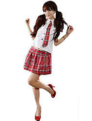Cute Girl Student School Uniform