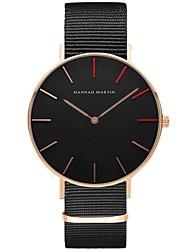 Homens Casal Relógio Esportivo Relógio de Moda Único Criativo relógio Relógio Casual Relógio de Pulso Chinês Quartzo Impermeável Tecido