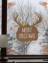 Noël Animal Vacances Stickers muraux Autocollants avion Autocollants muraux décoratifs Autocollants toilettes MatérielDécoration