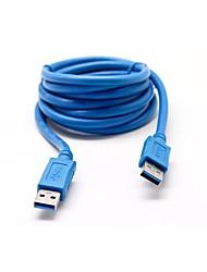 USB 3.0 Câble, USB 3.0 to USB 3.0 Câble Male - Male 1.8m (6Ft)