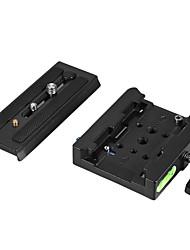 andoer cámara de vídeo trípode monopod abrazadera de adaptador de liberación rápida con placa de liberación rápida para manfrotto 501 /