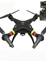 Dron X188 4 Canales 6 Ejes Con Cámara 5.0MP HD Iluminación LED Retorno Con Un Botón Modo De Control Directo Posicionamiento GPS Flotar
