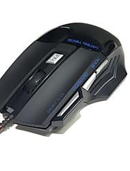 usb cable ratón de juegos 3200 dpi óptico led 7 botones usb ratón ratón de juegos para pc juego