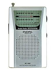 BC-R60 Портативный радиоприемник Серебряный
