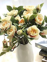 5 Филиал Недвижимость сенсорный Другое Гардения Букеты на стол Искусственные Цветы