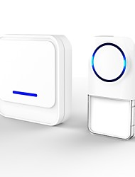 Unique Appearance Design High-quality Wireless Doorbell with 300m Super Long Range 52 Melodies for Home and Apartment