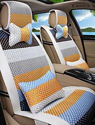 мультфильм радуга кожа шелк материал автомобильное сиденье подушка сиденье покрытие сиденье четыре сезона общий все вокруг-2 #