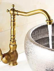 Antique Vasque Rotatif with  Soupape céramique Laiton Antique , Robinet de Cuisine