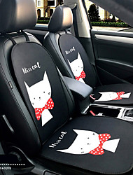 Miss Kitty Karikatur Auto Sitz Kissen Sitzbezug Sitz vier Jahreszeiten General umgeben von einer fünf Sitz Kopfstütze mit 2 Radsets