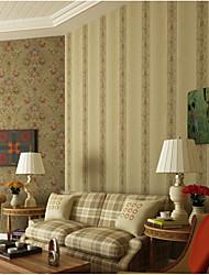 С принтом Обои Для дома Классические Облицовка стен , Чистая бумага материал Клей требуется обои , Обои для дома