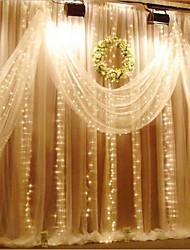 3m x 3m 300 encendió la luz del caramelo de la Navidad encendió las luces de hadas de Navidad al aire libre para la decoración de la boda