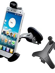 Automatique Téléphone portable Fixation de Support  Grille de sortie d'air Tableau de Bord Pare-brise avant Universel Type de cupula