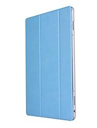 caja de cuero sólida de la PU del patrón de tres veces con el soporte para el mediapad m3 lite de huawei 10.0 m310 PC de la tableta de