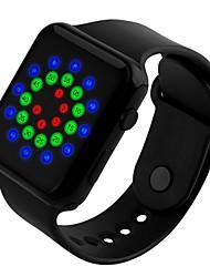 Sport Watches Men Fashion Digital LED Waterproof Watch For Women Student Silicone WristWatch Electronic Digital-watch SKMEI 1176