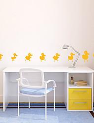 Животные Мультипликация Наклейки Простые наклейки Декоративные наклейки на стены материал Украшение дома Наклейка на стену