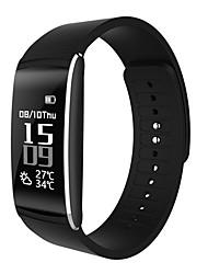 hhy новый q6 умные браслеты динамический сердечный ритм кровяное давление кислород сна усталость мониторинг движение сидячий сигнал