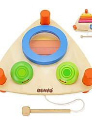 Набор для творчества Конструкторы Обучающая игрушка Для получения подарка Конструкторы Прямоугольный Ударная установка Музыкальные