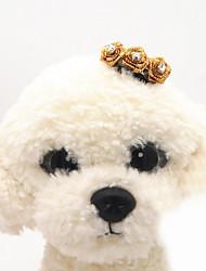 Собака Аксессуары для шерсти Одежда для собак На каждый день Бант