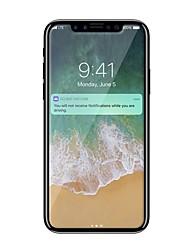 Vidrio Templado Protector de pantalla para Apple iPhone X Protector de Pantalla Frontal Dureza 9H A prueba de explosión