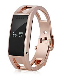 Жен. Смарт-часы Модные часы Цифровой сплав Группа Серебристый металл Золотистый