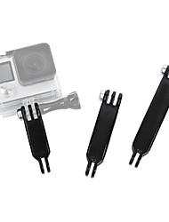 andoer 3pcs handheld grip adaptador de braços de montagem estendida para gopro 4/3/3/2/1 sjcam camera camera sport