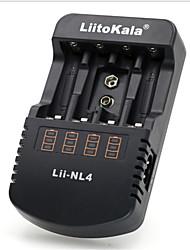 2017 liitokala lii-nl4 pilas recargables 12 v aa / aaa nimh 9 v