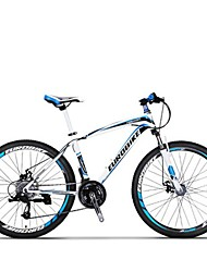 Mountain Bike Cycling 27 Speed 27.5 Inch MICROSHIFT TS70-9 Disc Brake Suspension Fork Steel Frame Carbon Anti-slipAluminum Alloy Carbon