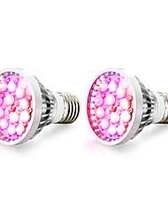 12W E14 GU10 E27 LED Grow Lights 12 High Power LED 290-330 lm Warm White UV (Blacklight) Red Blue AC85-265 V 2 pcs
