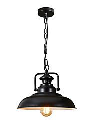 1-фары северная Европа винтажная промышленность черный металлический подвесной светильник столовая гостиная кухня светильник