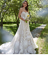 Garden Outdoor Wedding Dresses Search LightInTheBox