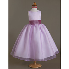 Taffeta Wedding / Party/ Evening Sash Flower Girl's Lilac