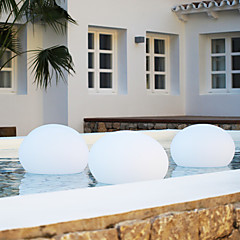 Akku-und wiederaufladbare LED-Lampe für Pool - Wohnung Kugelform (1075-flatball350)