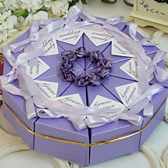 Lilac Cake Favor Box (Set of 10)