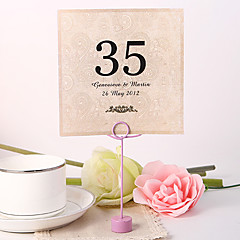 Pearl Paper Table Number Cards Poly Bag