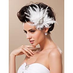 Dam Tyll Headpiece-Bröllop / Speciellt Tillfälle Fascinators