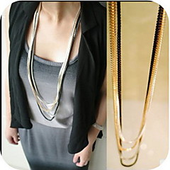 Women's Layered Chain Necklace