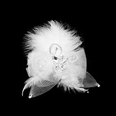 Femme Plume / Tulle Casque-Occasion spéciale Coiffure Comme l'image
