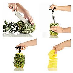 Küche aus Edelstahl leicht Ananas-Frucht Corer Schneidmaschine