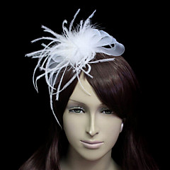 Women's Tulle / Flannelette Headpiece-Wedding / Special Occasion Fascinators