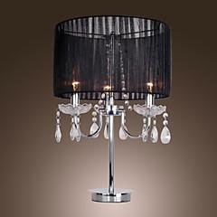 maishang® comtemporary Kristall 3 - Leuchttisch Licht mit farbric Schatten Kerze vorge