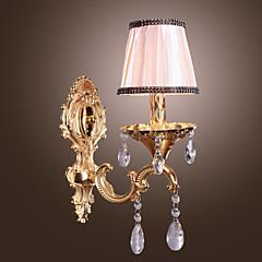 Krystal Væg Lamper,Traditionel/klassisk E12/E14 Metal