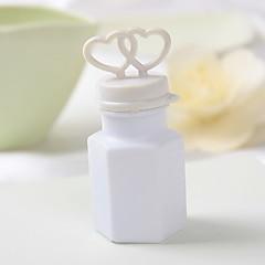 Hochzeitsdeko doppelten Herzen Blase Flasche - Satz von 24 (Lösung nicht enthalten)