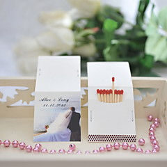 Wedding Décor Personalized Matchbooks - Beach Theme (Set of 50)