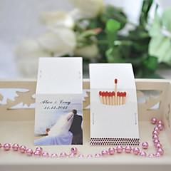 Karton Wedding Decorations-50Stuk/Set Lente Zomer Gepersonaliseerd Lucifers niet inbegrepen.