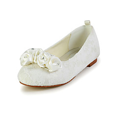 Girl's Shoes Wedding Shoes Comfort Flats Wedding Black/Red/Ivory/White/Champagne