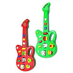 Elektrische Mini Musical Gitarre mit 12 Tunes (Powered by 2AA, farbig sortiert)