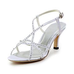 Women's Wedding Shoes Slingback Sandals Wedding Blue/Red/Ivory/White
