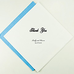 Personalized Wedding Napkins Thank You Classic(More Colors)-Set of 100