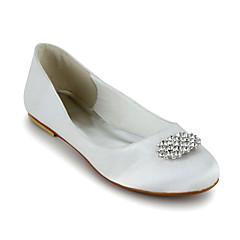 Women's Wedding Shoes Ballerina Flats Wedding Black/Blue/Purple/Red/Ivory/White